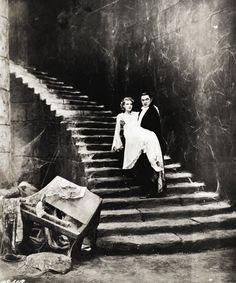 Bela Lugosi and Helen Chandler.  Dracula, 1931