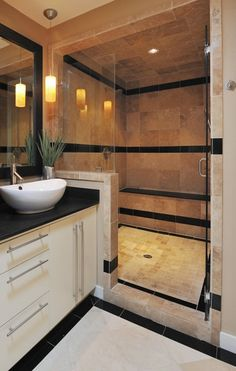 27 ideas for bath room layout large benches Laundry In Bathroom, Bathroom Renos, Bathroom Layout, Small Bathroom, Master Bathroom, Design Bathroom, Warm Bathroom, Bathroom Interior, Modern Bathroom