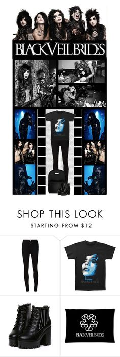 """""""BLACK VEIL BRIDES - ANDY BIERSACK"""" by irresistible-livingdeadgirl ❤ liked on Polyvore featuring CC, AG Adriano Goldschmied, BASIX BLACK LABEL, BVB, BLACKVEILBRIDES, andybiersack, andysixx, andyblack, music and emo"""