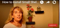 HOW TO INSTALL DECORATIVE SHELVES ON BATHROOM WALLS VIDEO - http://www.homeadditionplus.com/dev/bathrooms/how-to-install-shelves-on-bathroom-walls-video/