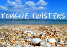 This free English lesson has interesting tongue twisters. There is a printable…