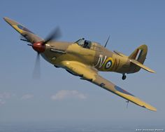 More Hawker Hurricane's fought in the Battle of Britain but the Spitfire gets all of the credit.