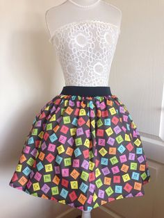 Periodic table panties bunnyjump items made with robyrikers ladies or girls topsy turvey periodic table full skater style skirt urtaz Image collections