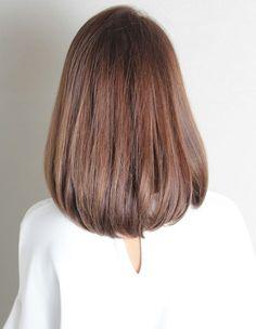 大人かわいいマロンボブ(SG-353) | ヘアカタログ・髪型・ヘアスタイル|AFLOAT(アフロート)表参道・銀座・名古屋の美容室・美容院 Hairdo For Long Hair, Long Hair Video, Long Hair Cuts, Medium Hair Styles, Short Hair Styles, Brown Hair Balayage, Hair Videos, Hairstyles Haircuts, Gorgeous Hair