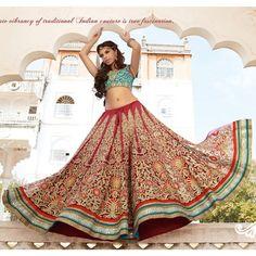 India Asia Pakistán Bollywood diseñador fiesta nupcial lehenga choli larga falda Georgette STITCHED collectioN de boda granate
