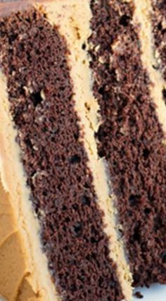 Mocha Layer Cake With Coffee Frosting The Dense Chocolate Has Strong Baked Into