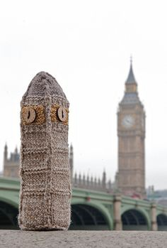 Baby Big Ben by Deadly Knitshade