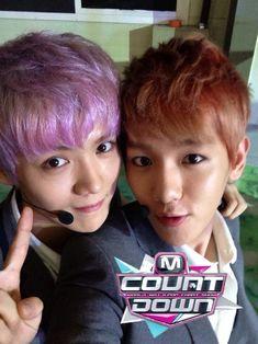 [Official Pics] 130801 EXO – M! Countdown backstage | K-Idols