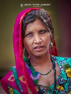 Femme à Pushkar (Rajasthan - Inde)  - Woman in Pushkar (Rajasthan - India)