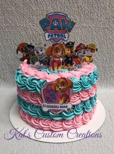 Bithday Cake, 4th Birthday Cakes, Monster Birthday Parties, Third Birthday, Birthday Ideas, Paw Patrol Torte, Skye Paw Patrol Cake, Girls Paw Patrol Cake, Paw Patrol Birthday Girl