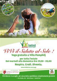 Free yoga all summer at Vivi Bistrot! :-)