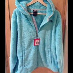 NEW The North Face Women's Veranda Hoodie Brand new women's veranda hoodie in size large in mint blue color.  No trade.  Price is firm. The North Face Tops Sweatshirts & Hoodies