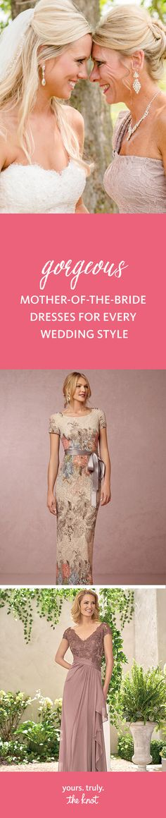 a97db2d365 Check out these chic mother-of-the-bride wedding dresses -- perfect