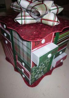 Jamiek711 Designs: Christmas Matchbox Advent Calendar