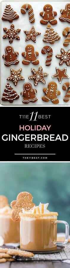 Holiday Gingerbread recipe ideas