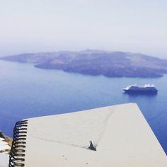 Skiss från Santorini // Sketch from Santorini