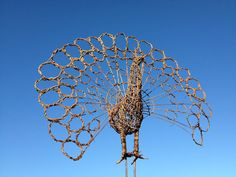 WILLOW AND WIRE ECO SCULPTURE
