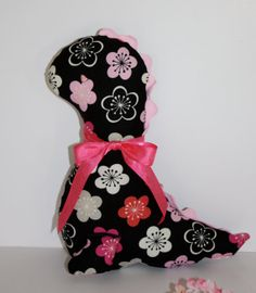 SALE  Girly Dinosaur Black and Pink Baby Shower by FrogBlossoms, $14.00