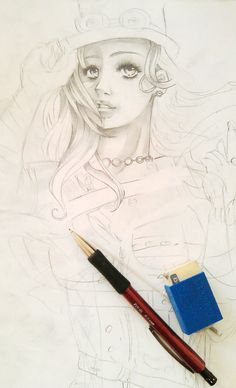 Freelance-Auftrag: Charakter-Design in Entstehung (Grobskizze). Medium: Bleistift Medium, Design, Art, Pencil, Sketches, Art Background, Kunst, Performing Arts