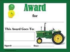 John Deere Award - Awards