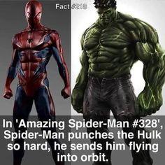 One reason I love Spider-Man!!