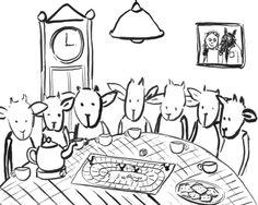 Still uit De wolf en de 7 geitjes - animatie Floor Adams