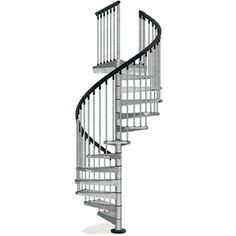 Arke Enduro 47 In X 10 Ft Gray Spiral Staircase Kit K05001
