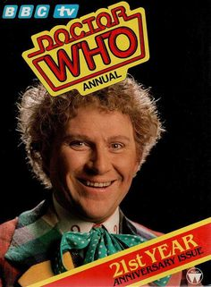 The Doctor Who annual starring Colin Baker, Circa 1985.
