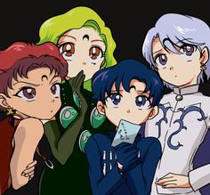 Sailor Moon / Amazon screencap redone to be Dark Moon family :D