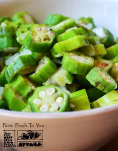 Sauteed Okra with Onions and Garlic - If you really like okra, this recipe is for you! Serve as a side dish or as a main course with rice.