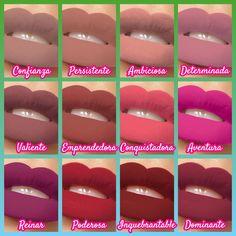 #Labial #LargaDuración #12hs #12colores #Hidratan #Suavizan #NuSkin #Labios #que #Expresan Nu Skin, Anti Aging Skin Care, Boss Babe, Lipsticks, Facial, Makeup, Beauty, Color, Maquiagem