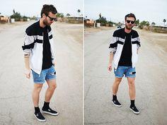 Adidas Jacket, Vans Shoes, Cheap Monday Shorts