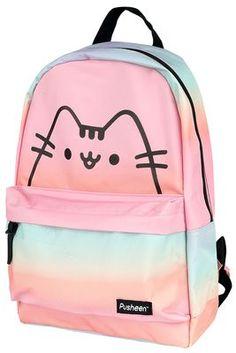 Pusheen Love, Pusheen Plush, Pusheen Cat, Pusheen Stuff, Pusheen Backpack, Fur Backpack, Travel Backpack, Cat Merchandise, Unicorn Princess