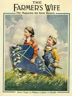 The Farmer's Wife Magazine, March 1931 Vintage Advertisements, Vintage Ads, Vintage Images, Vintage Pictures, Vintage Book Covers, Vintage Children's Books, Old Magazines, Vintage Magazines, Book And Magazine