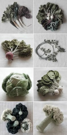 JungJung - vegetable - crochet