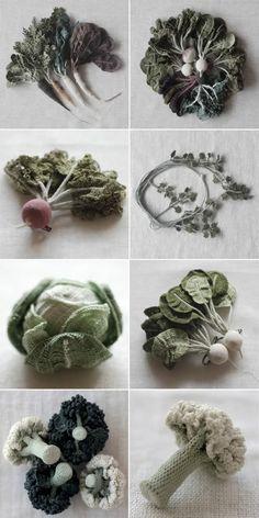 JungJung - vegetable - crochet
