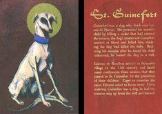 St. Guinefort Prayer Card by LemniscateSnake on DeviantArt