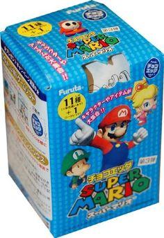 Nintendo Super Mario Bros Mini Figure Blind Packaging Case