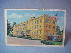 Municipal Hospital Lancaster Oh Postcard | eBay   postmarked 1950.