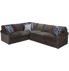 Rowe-Brentwood-Brentwood 2 Piece Sectional - Jordan's Furniture