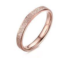 Stainless Steel Sand-Blasted Band Ring for Women Wedding Promise Engagement Rose Gold, http://www.amazon.com/dp/B01GRUDE5E/ref=cm_sw_r_pi_awdm_xs_JN5jyb7DPKNVF