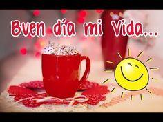 BUEN DÍA AMOR ☼ Hoy Desperté Pensando en Ti ♥♥ Vídeo Mensaje Romántico - YouTube