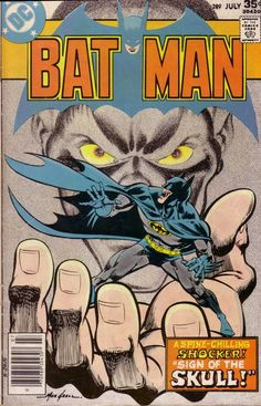 Batman #289, July 1977, cover by Mike Grell.