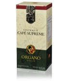 CAFÉ SUPREME 20 Sachets per Box This light, creamy and smooth gourmet coffee is enhanced with two powerful ingredients to add even more oomph to your day — our pure Ganoderma lucidum plus the prized ancient root of Panax Ginseng. Once considered so valuable it was only available to the privileged elite, Ginseng adds prestige to your coffee experience every day. To know more details...@ http://hectorochoa.myorganogold.com/