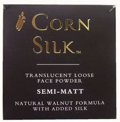 CORN SILK TRANSULECENT LOOSE FACE POWDER SEMI-MATT 12G [Health and Beauty] ** This is an Amazon Affiliate link. Find out more about the great product at the image link.
