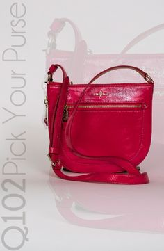 Cole Haan - Canteen Zip Crossbody.  Go to wkrq.com to find out how to play Q102's Pick Your Purse!