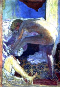 PIERRE BONNARD, Le grand nu bleu (1924)