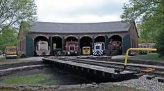 4.Old Engines in the Roundhouse