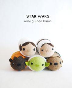 Star Wars Mini Guinea Hams