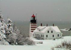 West Quoddy Light ~ South Lubec, Maine